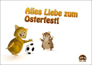"""Grußkarte """"Osterfest"""" Vorschau"""